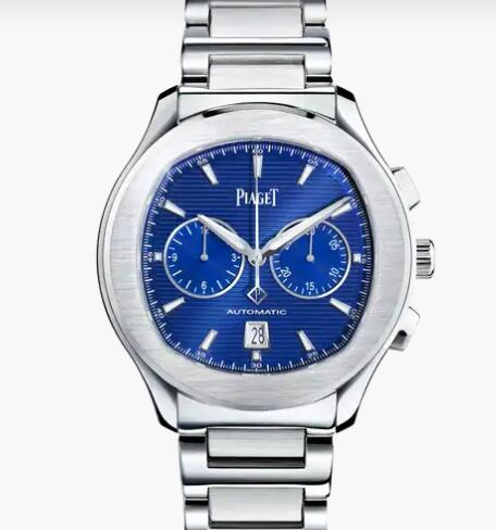 Replica Piaget Polo Steel Chronograph Watch Piaget Luxury Men Watch G0A41006