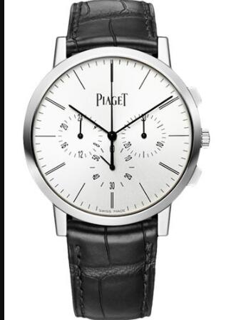 Piaget Altiplano Ultra-Thin Replica Watch Chronograph 41 mm White Gold G0A41035