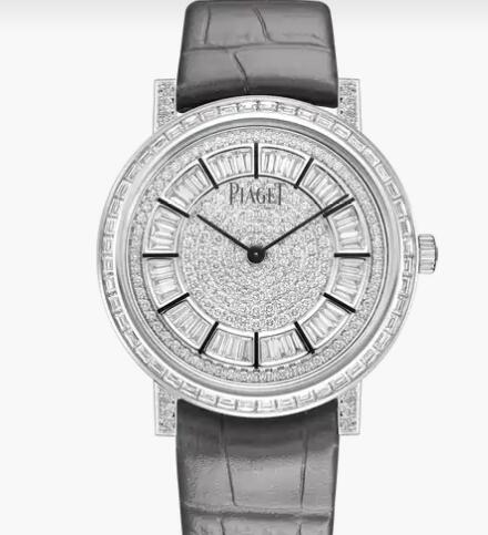 Replica Luxury Piaget Altiplano White gold Diamond Ultra-thin mechanical Watch G0A41127