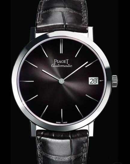 Replica Piaget Altiplano 40 mm Watch G0A42050 Gold White - Strap Alligator