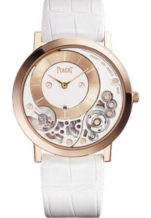 Piaget Altiplano Ultra-Thin Replica Watch Mechanical 38 mm Rose Gold G0A42110