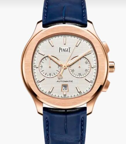 Replica Piaget Polo Rose Gold Chronograph Watch Piaget Men Luxury Watch G0A43011