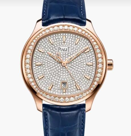 Replica Piaget Polo Rose gold Diamond Automatic Watch G0A44011 Piaget Luxury Watch