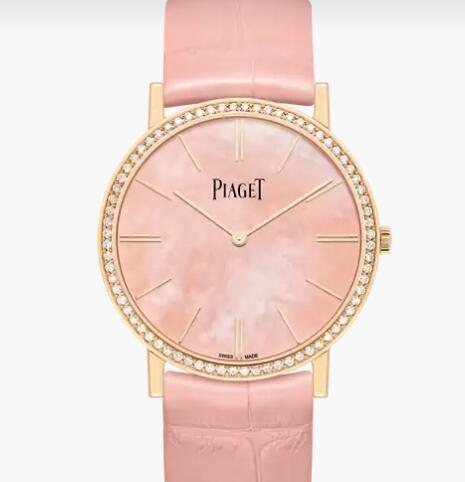 Replica Piaget Altiplano Rose gold Ultra-thin mechanical Watch G0A44060