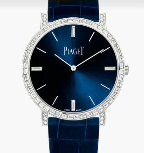 Replica Piaget Altiplano White gold Diamond Ultra-thin automatic Watch G0A44075