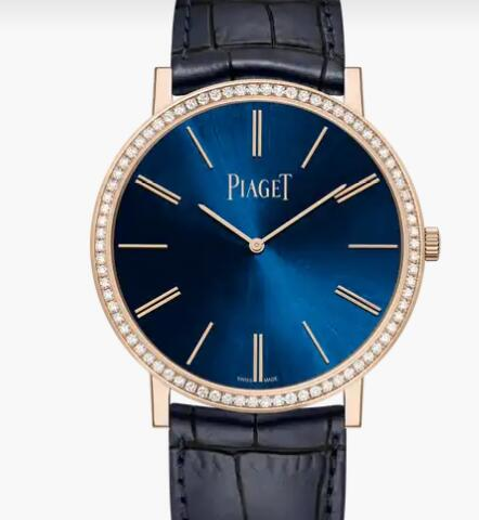 Replica Piaget Altiplano Rose Gold Diamond Ultra-Thin Watch G0A45051