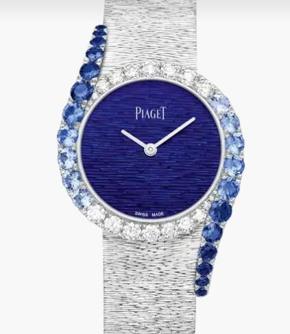 Replica Piaget Limelight Gala Piaget Luxury Watch G0A45163 White Gold Sapphire Diamond Watch