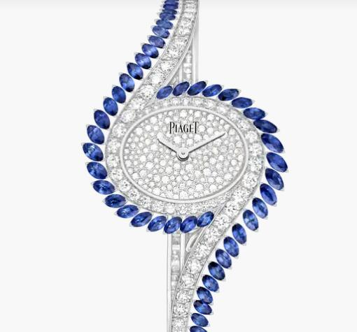 Replica Piaget Limelight Gala Piaget Luxury Watch G0A45171 White Gold Sapphire Diamond Watch