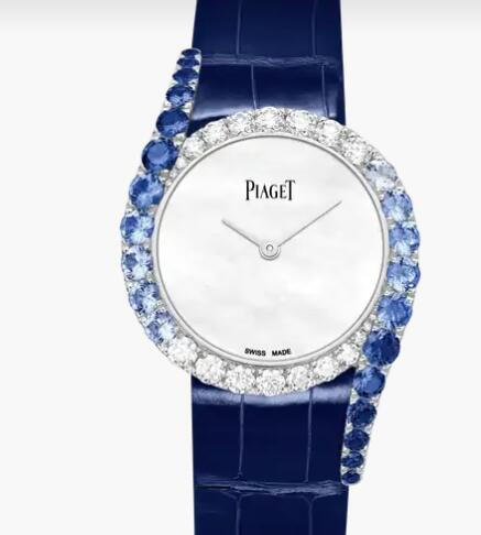 Replica Piaget Limelight Gala Piaget Luxury Watch G0A45363 White Gold Sapphire Diamond Watch