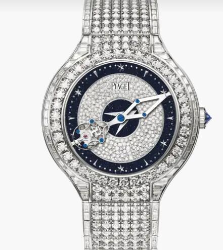 Replica Piaget Polo White Gold Diamond Tourbillon Relatif Watch Piaget Watch G0A45450