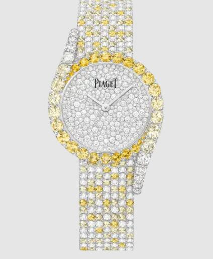 Replica Piaget Limelight Gala Watch Automatic Sapphire Diamond Watch - Piaget Luxury Watch G0A46189