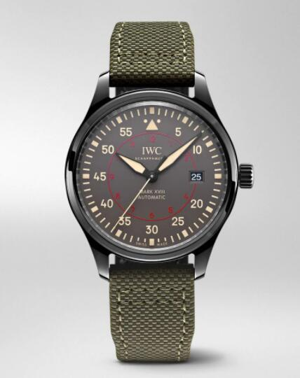 IWC Pilot Mark XVIII Top Gun Miramar Replica Watch IW324702