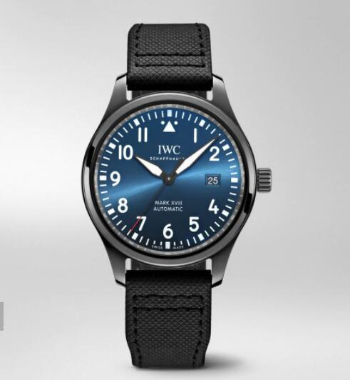 "IWC Pilot Watch Mark XVIII Edition ""Laureus Sport For Good Foundation"" Replica Watch IW324703"