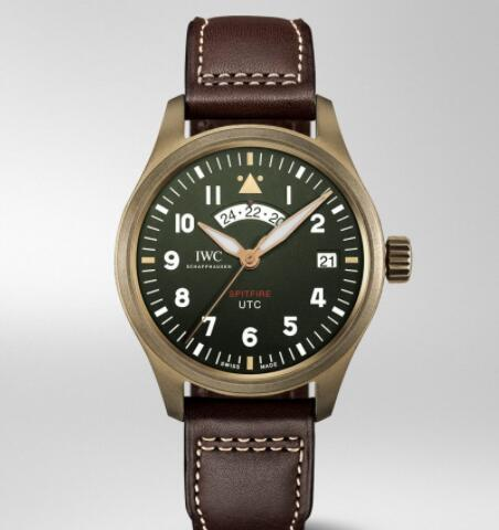 "Replica IWC Pilot's Watch UTC Spitfire Edition ""MJ271"" IW327101"