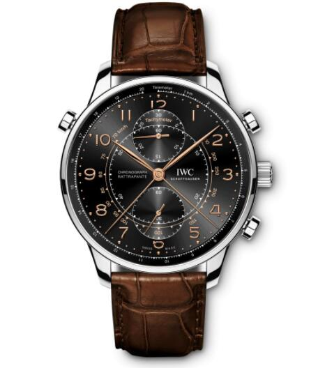 "IWC Portugieser Chronograph Rattrapante Edition ""Boutique Genève"" Replica Watch IW371221"