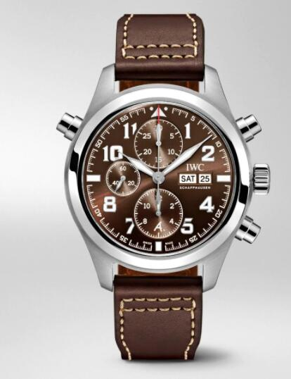 "IWC Pilot Double Chronograph Edition ""Antoine De Saint Exupéry"" Replica Watch IW371808"