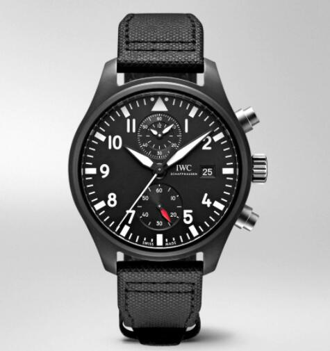 IWC Pilot Chronograph Top Gun Replica Watch IW389001