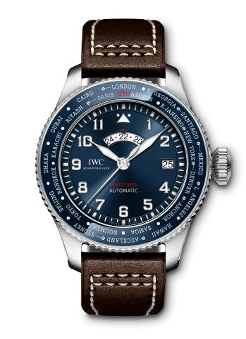 Cheapest New IWC Pilot's Watch Timezoner Le Petit Prince Replica Watch IW395503