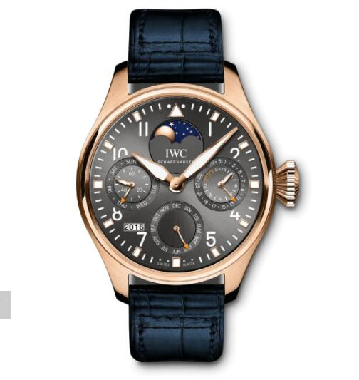 "IWC Big Pilot Perpetual Calendar Edition ""1936 – A Tribute to the 1st IWC Pilot's Watch"" Replica Watch IW503802"