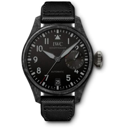 "Replica IWC Big Pilot's Watch Edition ""Black Carbon"" IW506101"