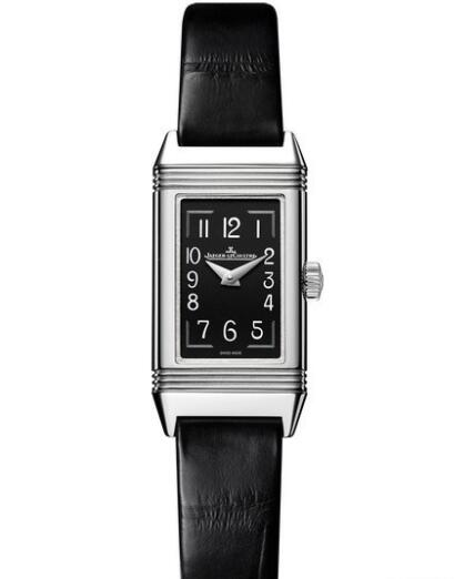 Replica Jaeger Lecoultre Reverso One Réédition Watch Q3258470 Steel - Alligator Leather Strap
