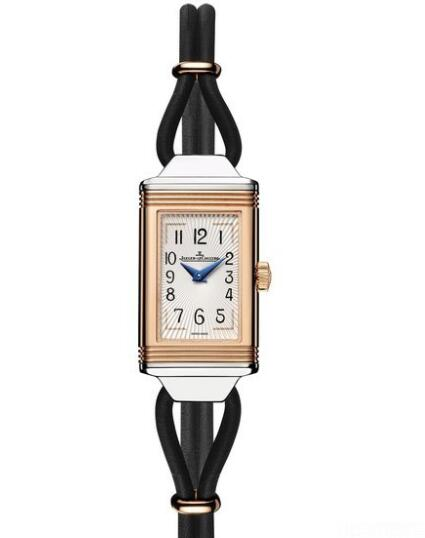 Replica Jaeger Lecoultre Reverso One Cordonnet Watch Q3264420 Steel - Leather Strap
