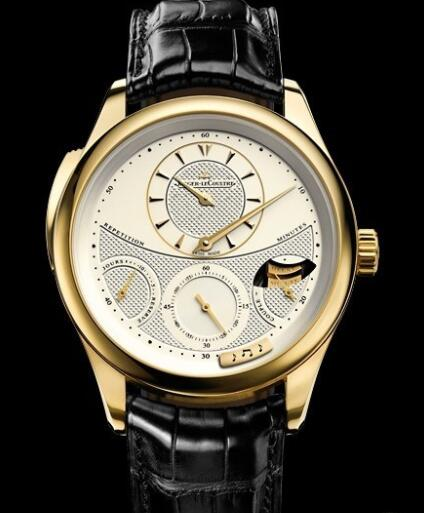 Replica Jaeger Lecoultre Master Grande Tradition à Répétition Minutes Q5011410 Yellow gold Watch