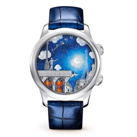 Replica Van Cleef & Arpels Midnight Poetic Wish Watch VCARO30K00
