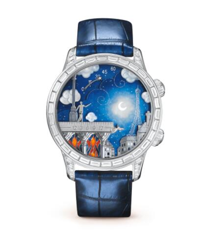 Replica Van Cleef & Arpels Midnight Poetic Wish Watch VCARO30N00