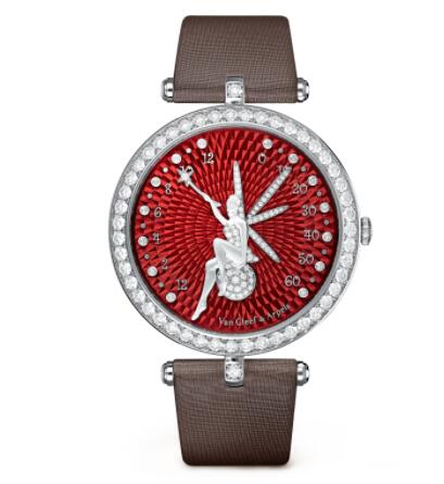 Replica Van Cleef & Arpels Lady Arpels Féerie Rouge Watch VCARO3MA00