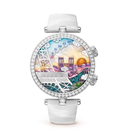 Replica Van Cleef & Arpels Lady Arpels Poetic Wish Watch VCARO3WL00
