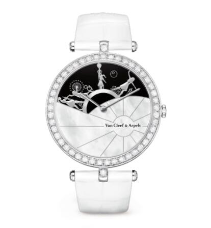 Replica Van Cleef & Arpels Lady Arpels A Day in Paris Watch VCARO3ZB00