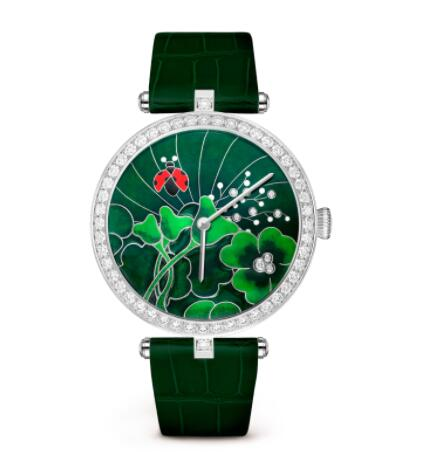Replica Van Cleef & Arpels Lady Arpels Day and Night Coccinelles Watch VCARO4JB00