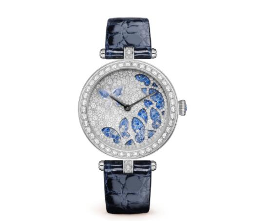 Replica Van Cleef & Arpels Lady Nuit des Papillons Watch VCARO8NZ00