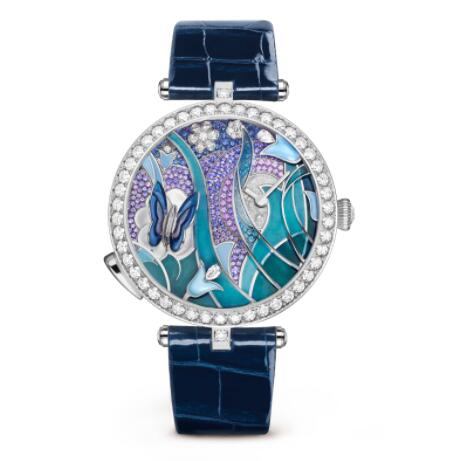Replica Van Cleef & Arpels Lady Arpels Papillon Automate Watch VCARO8PN00