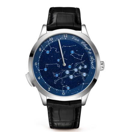 Replica Van Cleef & Arpels Midnight Nuit Lumineuse Watch VCARO8PX00