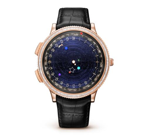 Replica Van Cleef & Arpels Midnight Planétarium Watch VCARO8T100