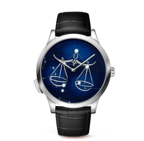 Replica Van Cleef & Arpels Midnight Zodiac Lumineux Libra watch VCARO8T900