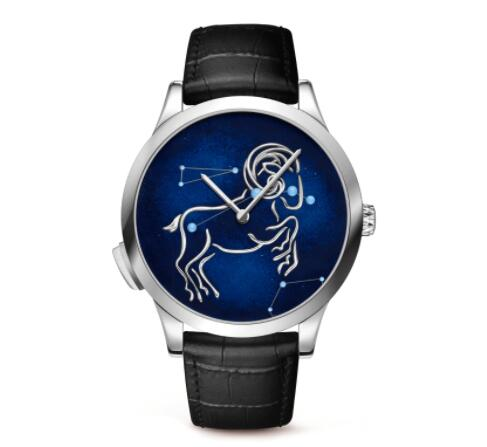Replica Van Cleef & Arpels Midnight Zodiac Lumineux Aries watch VCARO8TA00
