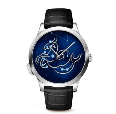 Replica Van Cleef & Arpels Midnight Zodiac Lumineux Capricorn watch VCARO8TC00