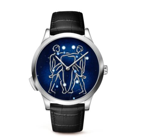 Replica Van Cleef & Arpels Midnight Zodiac Lumineux Gemini watch VCARO8TD00