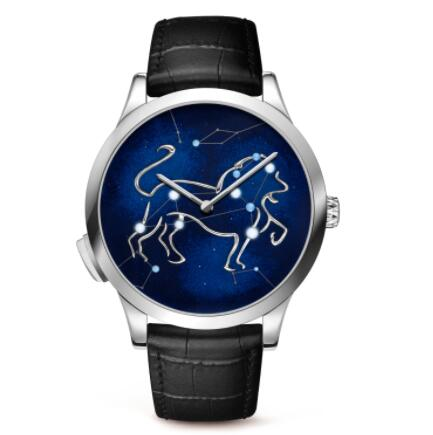 Replica Van Cleef & Arpels Midnight Zodiac Lumineux Leo watch VCARO8TE00