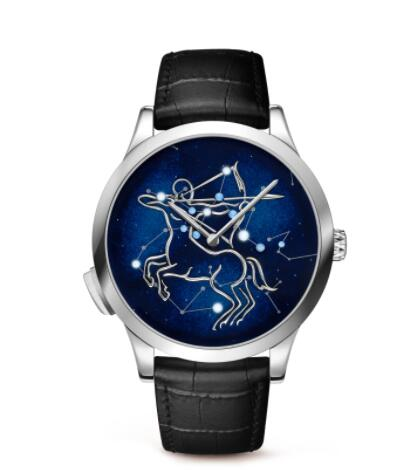 Replica Van Cleef & Arpels Midnight Zodiac Lumineux Sagittarius watch VCARO8TG00