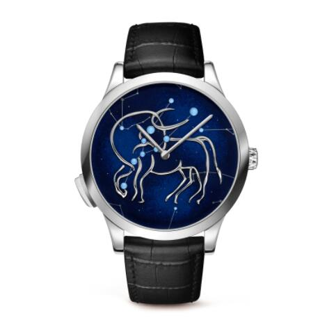 Replica Van Cleef & Arpels Midnight Zodiac Lumineux Taurus watch VCARO8TI00
