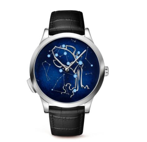 Replica Van Cleef & Arpels Midnight Zodiac Lumineux Aquarius watch VCARO8TJ00