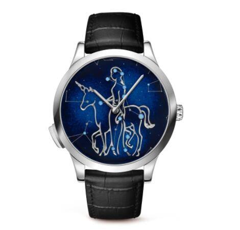 Replica Van Cleef & Arpels Midnight Zodiac Lumineux Virgo watch VCARO8TK00
