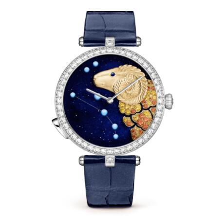 Replica Van Cleef & Arpels Lady Arpels Zodiac Lumineux Aries watch VCARO8TM00