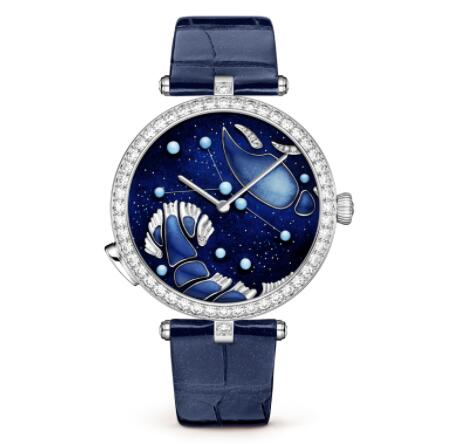 Replica Van Cleef & Arpels Lady Arpels Zodiac Lumineux Cancer watch VCARO8TN00