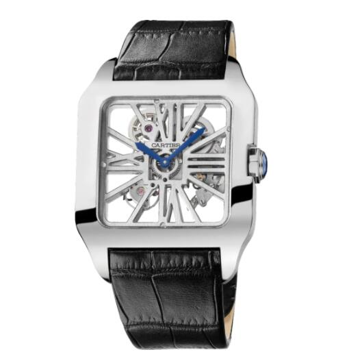 Replica Cartier Santos de Cartier watch Santos-Dumont Skeleton watch W2020033