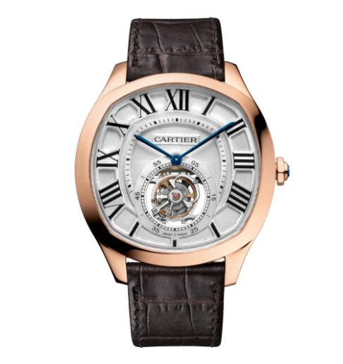 Replica Cartier Drive de Cartier Flying Tourbillon watch W4100013